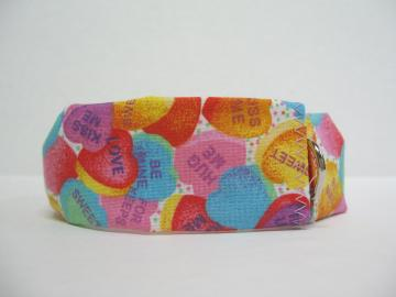 Valentines Day Pet Collar Cover