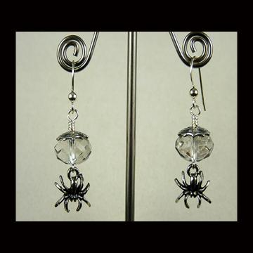 Spider Dangle Earrings