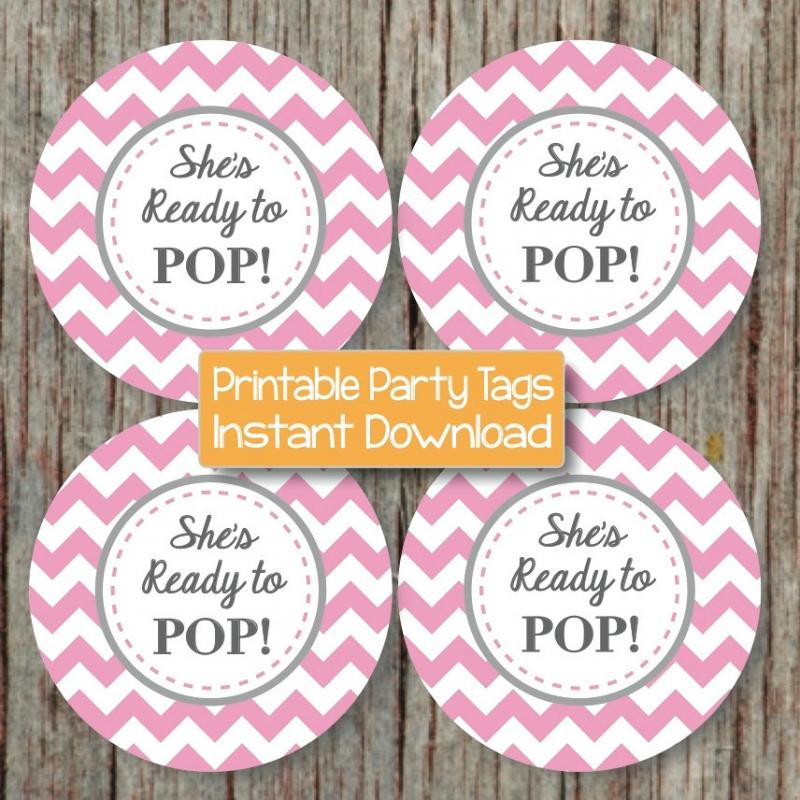 Diy ready to pop labels party invitations ideas for Ready to pop stickers template