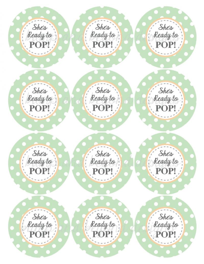 ready to pop labels template free - shes ready to pop template just b cause