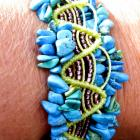 Summer time, macrame bracelet