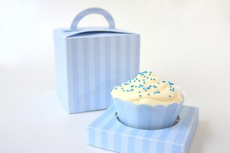 printable cupcake box template .