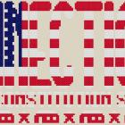 Connecticut The Constitution State Cross Stitch Pattern