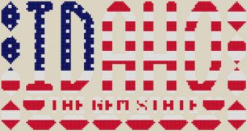 Idaho The Gem State Cross Stitch Pattern