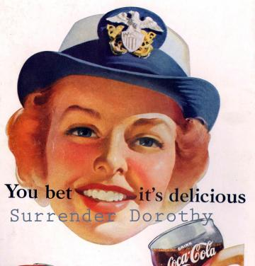 Coca Cola Advertisement 1952 You Betcha It's Delicious