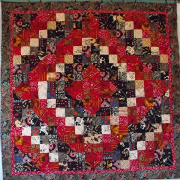 Glory of the West Lap Quilt