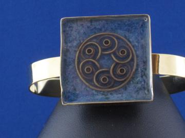 Celtic Spiral Cuff Bracelet by Caribbean Dreams