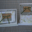 Green Print Notecards