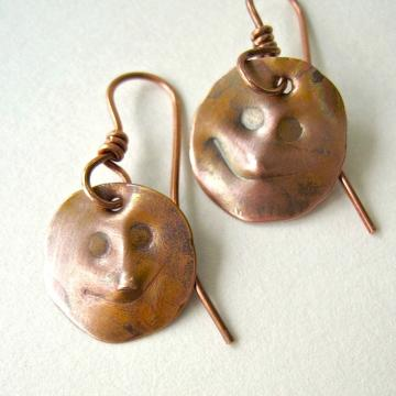 Gentle Folk Copper Earrings