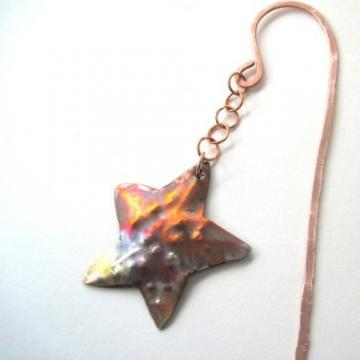 Copper Bookmark Wish Upon a Starfish