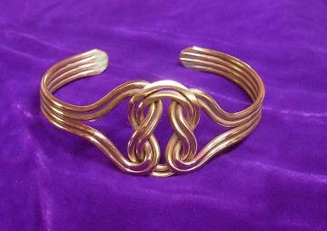 Copper Celtic Knot Arthritis Bracelet Wellbeing
