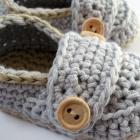 Organic Cotton Little Button Loafers