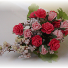 Wedding Bridal Bouquet For Barbie Collectors