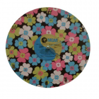LARGE DAISY - RETRO - RECORD CLOCK