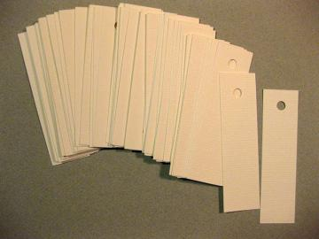 Blank white gift tags, pack of 50