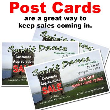 Post Card Graphics for Your Business