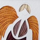 Quilled Guardian Angel