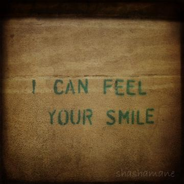 I can feel your smile 5 x 5