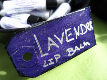 Lavender Lip Balm Organic and Herbal