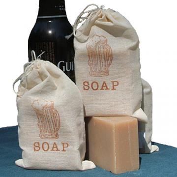 BEER Soap (Guinness) Handmade Cold Process Soap