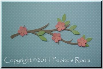 PRA Spring Blossoms Accent SVG files - Ideal for Scrapbooking, Card making, 3D Projects - PR