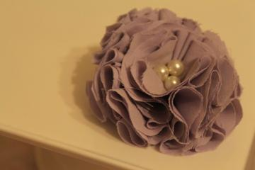 Blooming Spring Flower Clip - Lilac 