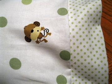 NEW My Baby Monkey MINI Pillowcase kids/travel pillowcase