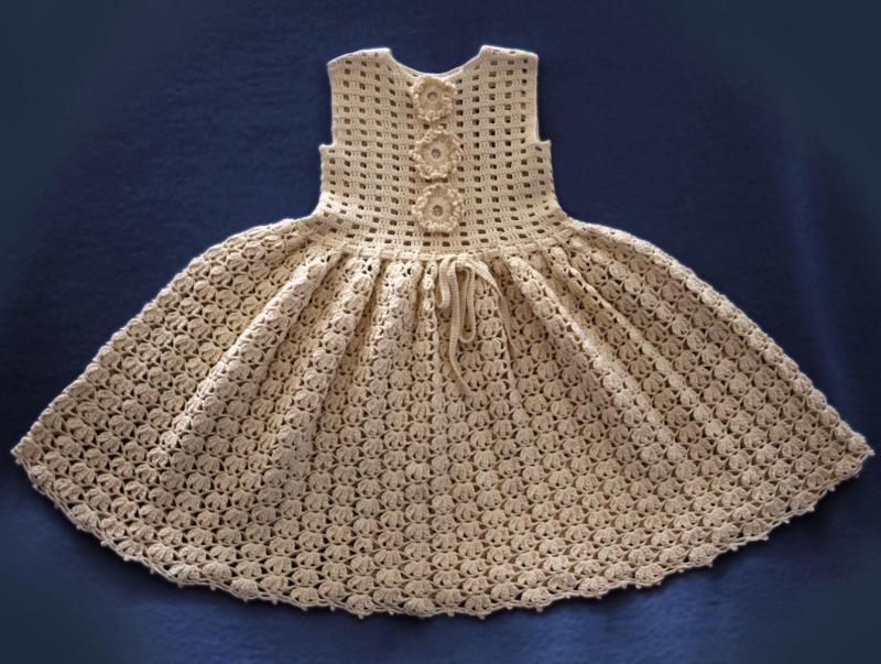 Baby Dress Crochet Pattern / Vintage