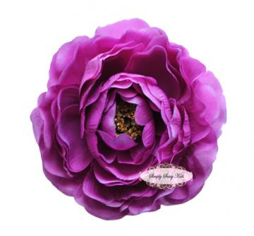 SPECIAL~  New ~ PURPLE 4 inch Ruffle Ranunculus - Other Sizes Available