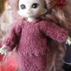 Puki Dress Suit pink Cashmere