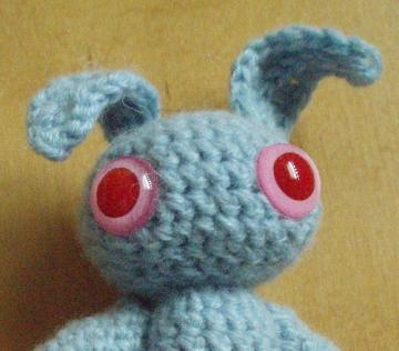 Meredith Amigurumi Bunny CASHMERE