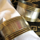 Vintage Napkin Rings or Cuffs For Your Elegant Dining