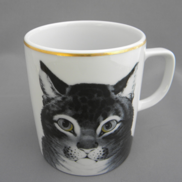The Favorite Cat - Lourioux Porcelaine Mug