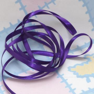 PURPLE HAZE DouBLe FaCeD SaTiN RiBBoN, Polyester 1/4 inch wide, 5 Yards
