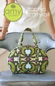 Amy Butler Sewing Pattern - Sophia Carry All