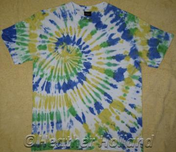Tie Dyed Summer Weight T Shirt Adult Size M  TDC089