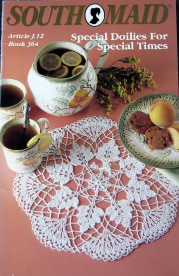 Special Doilies For Special Times Crochet Pattern Book