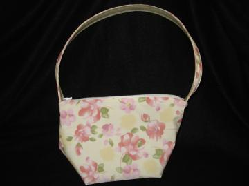 Repurposed Floral Handbag