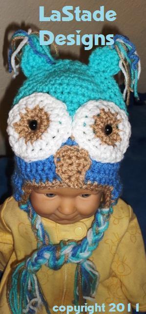 Crochet Geek - Free Instructions and Patterns: Baby Crochet Cap
