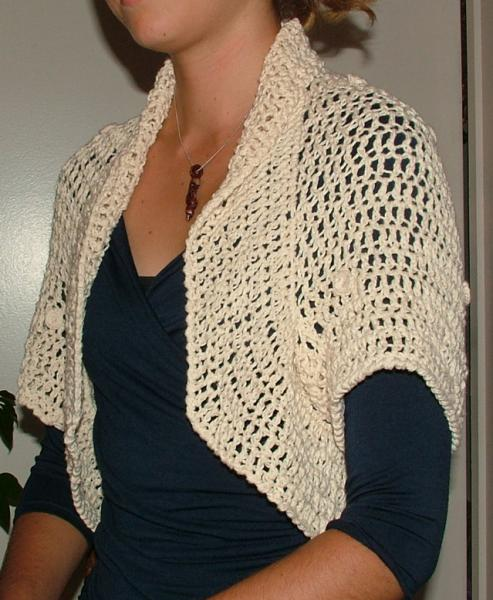 Summer shrug in 3 steps crochet pattern pdf