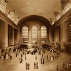 1914 Grand Central Depot, NYC ~ Historic Architectural Rotogravures