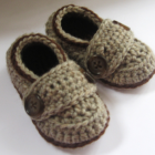 Peruvian Highland Wool Little Button Loafers
