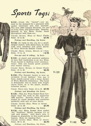 1939 Fifth Avenue DIY Fashion Lithographs ~ New York Couture