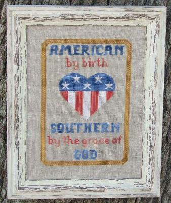 American by Birth Cross Stitch Pattern