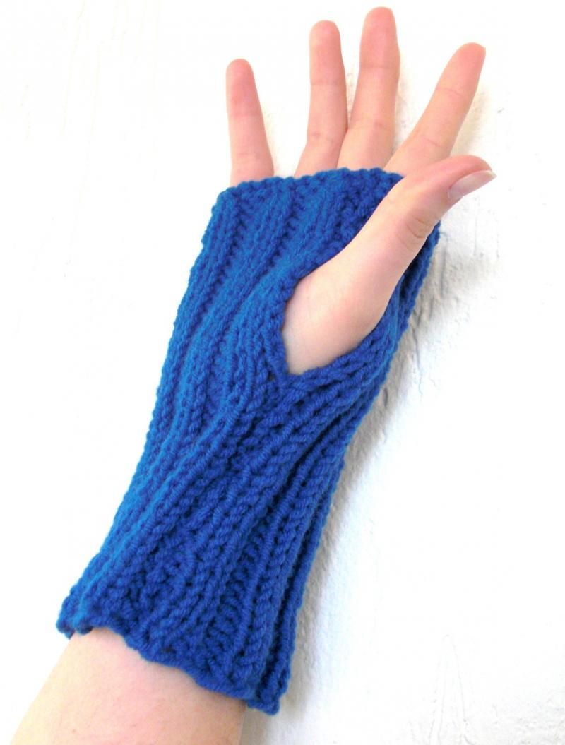 Fingerless Gloves Knitting Pattern Beginner : #