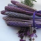 Organically Grown Lavender Wands by Locks of Silver on Zibbet
