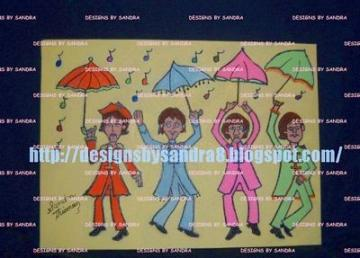 "Beatles Cartoon Sgt Peppers ""Under My Umbrella"""