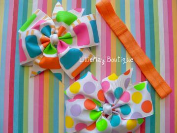 Summer Popcicle/Dots 4&quot; Pinwheels