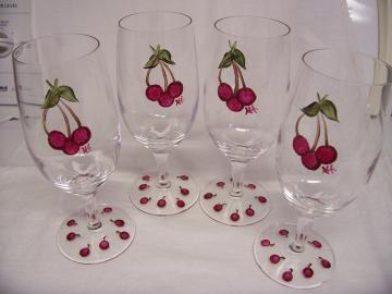 Cherry Glasses