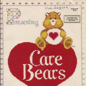 Care Bears Vintage Cross Stitch Booklet